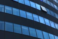 Jeden otwarte okno na nowożytnej fasadzie Fotografia Royalty Free