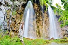 Jeden piękni miejsca w Plitvice, Chorwacja światowych - Obrazy Stock