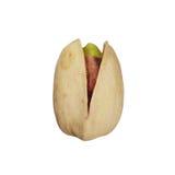Jeden pistacjowa dokrętka Fotografia Stock