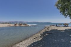 Jeden plaża na Crete Obrazy Stock