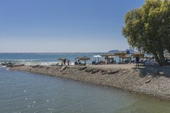 Jeden plaża na Crete Fotografia Royalty Free