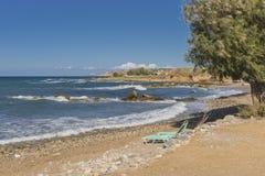 Jeden plaża na Crete Zdjęcie Royalty Free