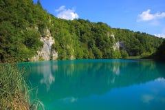 Jeden Plitvice jeziora w Chorwacja zdjęcie royalty free