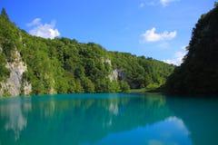 Jeden Plitvice jeziora w Chorwacja obraz stock