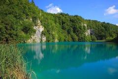 Jeden Plitvice jeziora w Chorwacja fotografia stock
