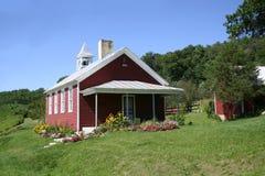 jeden pokój wiejskiej szkoły Zdjęcia Royalty Free