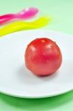 jeden pomidor Zdjęcie Royalty Free