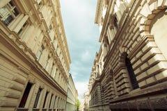 Jeden stare ulicy Zdjęcia Stock