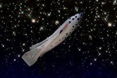 jeden statek przestrzeni Fotografia Stock