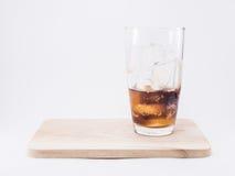 Jeden tercja miękki napój jest chłodno Obrazy Royalty Free