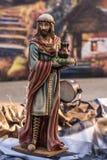 Jeden trzy królewiątka przy Chrystus katedrą w Ogrodowym gaju, Kalifornia fotografia stock