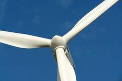 jeden turbiny wiatr Zdjęcie Royalty Free