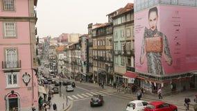 Jeden ulicy w Porto Starym miasteczku UNESCO rozpoznawał Starego miasteczko Porto jako światowego dziedzictwa miejsce w 1996 zbiory
