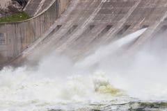 Jeden władza strumień od powodzi bramy bardzo Obrazy Royalty Free