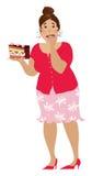jeden więcej ciastek royalty ilustracja