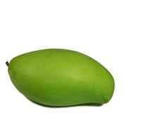 Jeden Wibrujący Zielonego koloru Młody mango, Tropikalna owoc Tajlandia Zdjęcie Stock