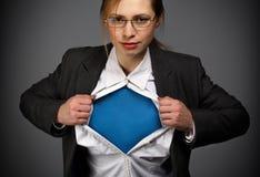 Jeder ist ein Superheld Lizenzfreies Stockbild