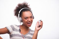 Jeder liebt Musik Stockfoto