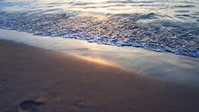 Jeder Strand hat ihre Geschichte stockbilder