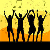 Jeder tanzen! Stockfotos