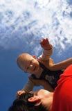 Jedes Kind kann 3. fliegen. Lizenzfreies Stockfoto