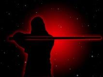 Jedi avec le sabre léger #2 Photographie stock
