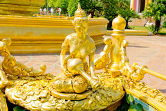 Jedi-chaimongkol Tempel Lizenzfreies Stockbild