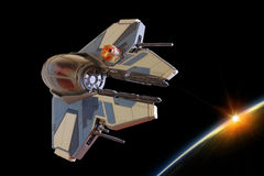 JEDI STARFIGHTER Royalty Free Stock Photos