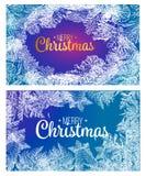Jedlinowe gałąź Wesoło bożych narodzeń splendoru tło z sosny gałąź i powitanie tekstem Szczęśliwy 2019 nowego roku wita wektorowy royalty ilustracja
