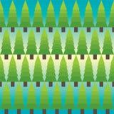 Jedlinowego drzewa wzór Zdjęcie Stock
