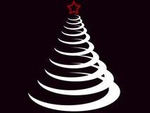 jedlinowy Bożego Narodzenia drzewo Zdjęcie Stock
