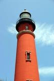 jedna latarnia morska Obraz Stock