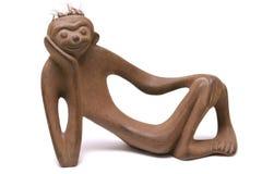 jedna małpa zdjęcie royalty free