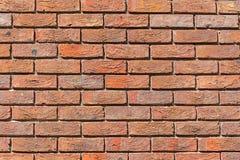 Jednakowo czerwony ściana z cegieł Zdjęcia Stock