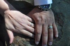 Jedność małżeństwo Zdjęcie Stock