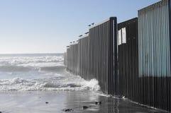 jednocząca stan ściana kończy up w Pacyficznym oceanie obraz royalty free