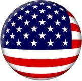 jednoczący chorągwiani America stan Zdjęcie Royalty Free