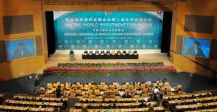 jednoczący narodu międzynarodowy konwersatorium Zdjęcia Royalty Free