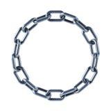 jednoczący połączenie łańcuszkowy pierścionek ilustracji