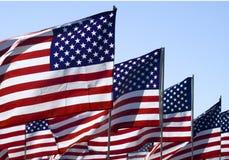jednoczący flaga stan Zdjęcie Stock
