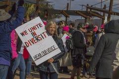 ` jednoczymy w różnorodności ` Zdjęcia Stock