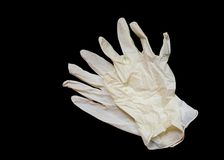 jednorazowe rękawiczki zdjęcia royalty free