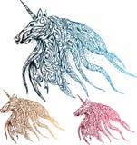 Jednorożec koń ilustracja wektor