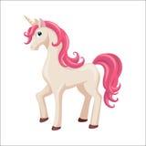 jednorożec słodki konia Zdjęcia Royalty Free