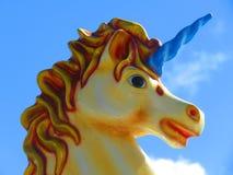 Jednorożec dzieci carousel Zdjęcie Royalty Free