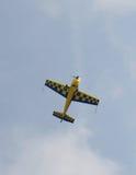 Jednosilnikowy samolot Zdjęcia Royalty Free