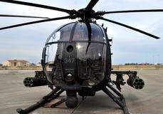 Jednostek Specjalnych AH-6 Mały Ptasi helikopter Obrazy Royalty Free
