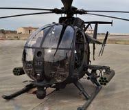 Jednostek Specjalnych AH-6 Mały Ptasi helikopter Obrazy Stock