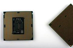 Jednostka centralna dla komputeru procesor w g?r? obraz royalty free