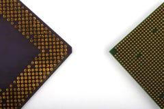 Jednostka centralna dla komputeru procesor w g?r? fotografia royalty free